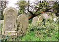 TG2408 : Graves on the terraces by Evelyn Simak