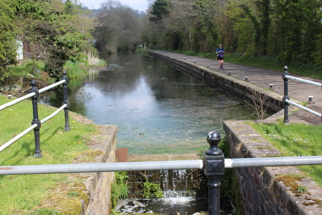 Monmouthshire & Brecon Canal, Five Locks
