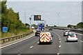 SO9163 : Northbound M5 near Droitwich Spa by David Dixon