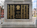 SJ5195 : St Helens War Memorial (detail) by David Dixon