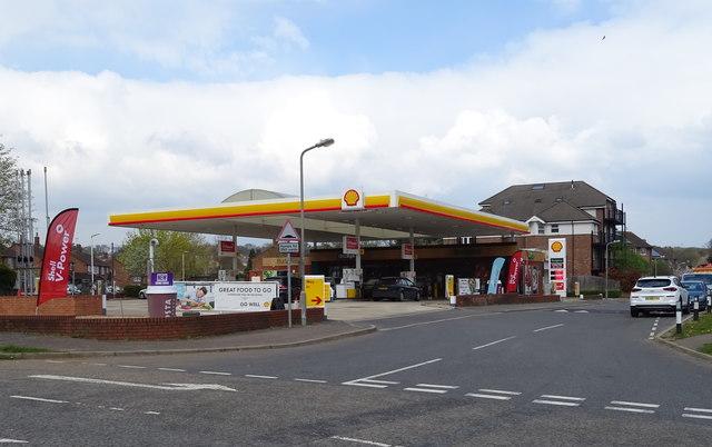 Service station on North Orbital Road, Denham