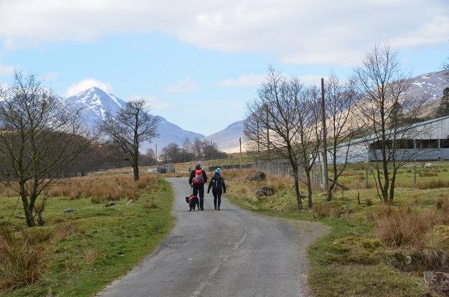 Near Kenknock, Glen Lochay