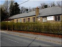 SO1110 : Welfare Hall, Merthyr Road, Tafarnaubach by Jaggery