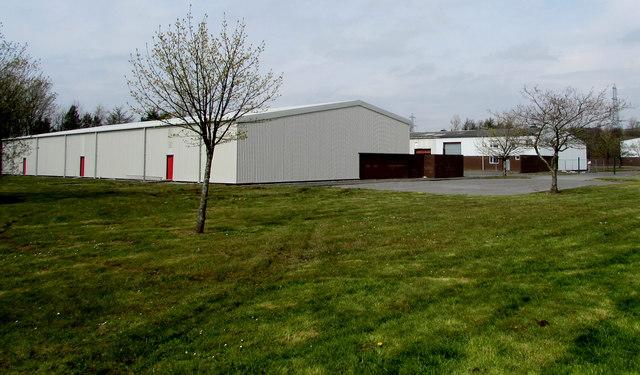 Units in Tafarnaubach Industrial Estate