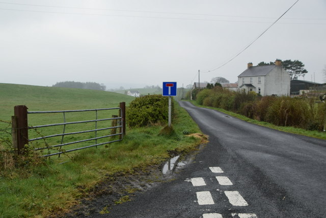 Dead-end road, Mountjoy Forest West Division