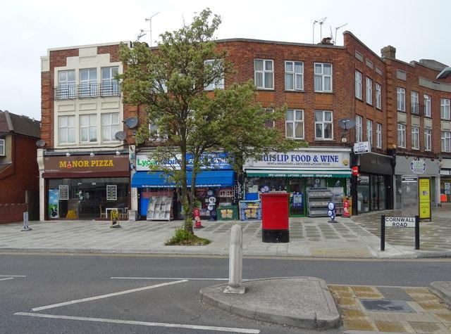 Shops on Cornwall Road, Ruislip