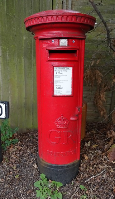 George V postbox on the A416, Amersham