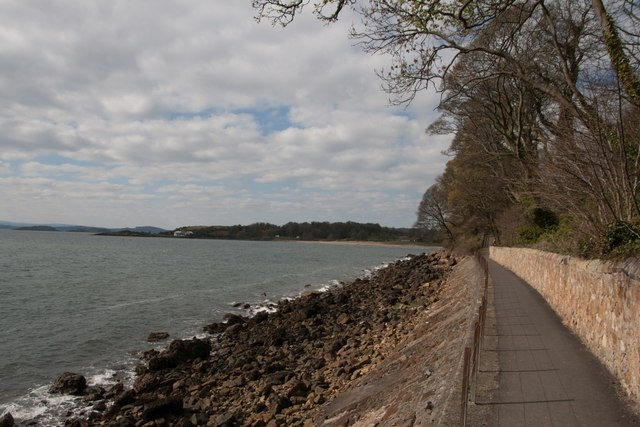 Fife Coastal Path at The Heughs