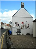 NO4202 : Decorated gable end by Richard Sutcliffe