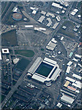 NS5564 : Ibrox Stadium from the air by Thomas Nugent