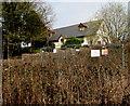 SO1210 : Fenced-off danger area, Merthyr Road, Tafarnaubach by Jaggery