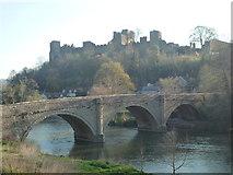 SO5074 : Ludlow Castle & Dinham Bridge (Ludlow) by Fabian Musto