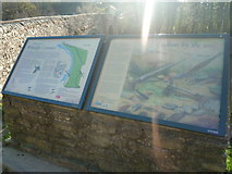 SO5074 : Signs at Whitcliffe Common (Ludlow) by Fabian Musto