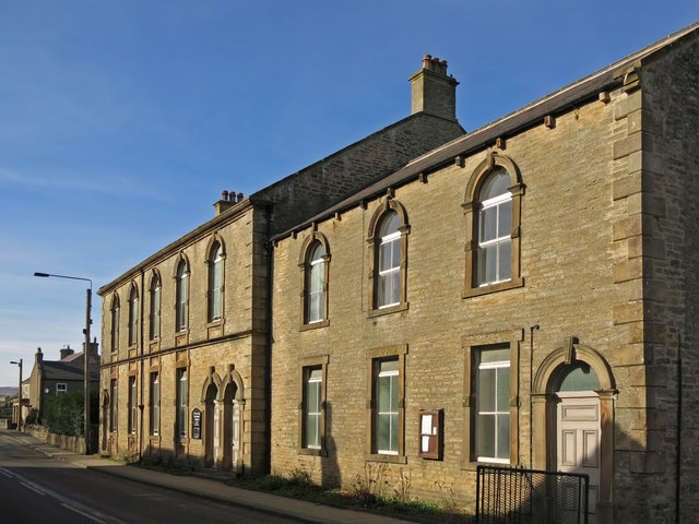 The former Westgate Methodist Church and schoolroom