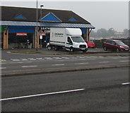 ST3090 : Longmarsh van,  Malpas, Newport by Jaggery