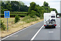 ST1419 : Southbound M5 near Wellington by David Dixon