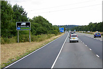 ST0209 : Southbound M5 towards Cullompton by David Dixon