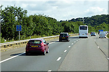 ST0104 : Northbound M5 near to Westcott by David Dixon