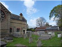 TQ1068 : St Mary, Sunbury-on-Thames: churchyard (d) by Basher Eyre