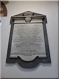 TQ1068 : St Mary, Sunbury-on-Thames: memorial (4) by Basher Eyre