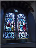 TQ1068 : St Mary, Sunbury-on-Thames: stained glass window (3) by Basher Eyre