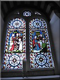 TQ1068 : St Mary, Sunbury-on-Thames: stained glass window (5) by Basher Eyre
