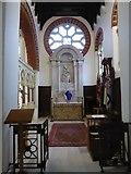 TQ1068 : St Mary, Sunbury-on-Thames: altar (3) by Basher Eyre