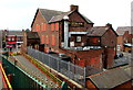 SJ3068 : Rear of the Central Hotel, Shotton by Jaggery