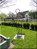 """TF5519 : """"There but not there"""" tribute at the Terrington War Memorial by Adrian S Pye"""