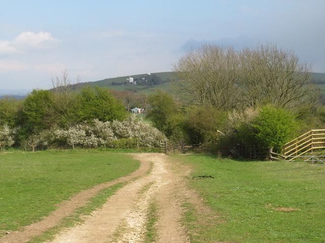 Bridleway near Pyecombe