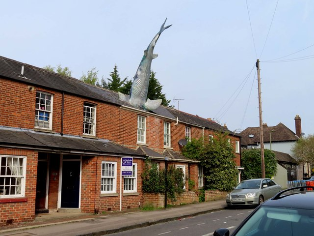 The Headington Shark in New High Street