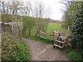 TQ3014 : Footpaths near Hassocks by Malc McDonald