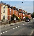 SU4866 : Brick houses, Hambridge Road, Newbury by Jaggery