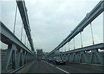 SH5571 : A5 Menai Suspension Bridge by Chris Gunns