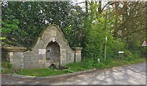 TA0114 : Drinking fountain at Fountain Corner, Worlaby by Chris Morgan