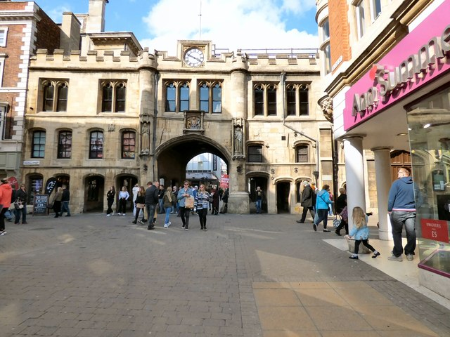Stonebow and Guildhall