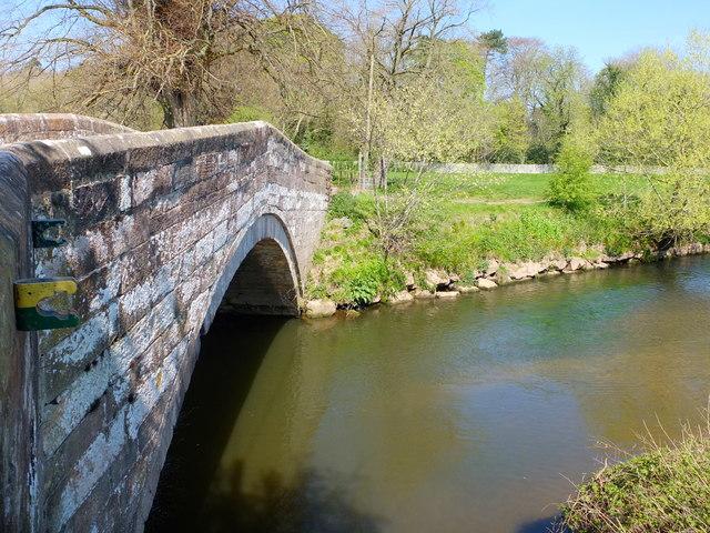 Hermitage Bridge over The River Dane