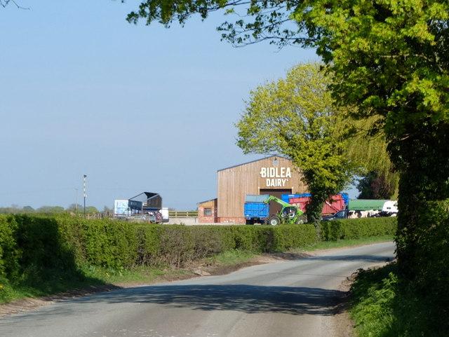 Bidlea Dairy, Twemlow Lane
