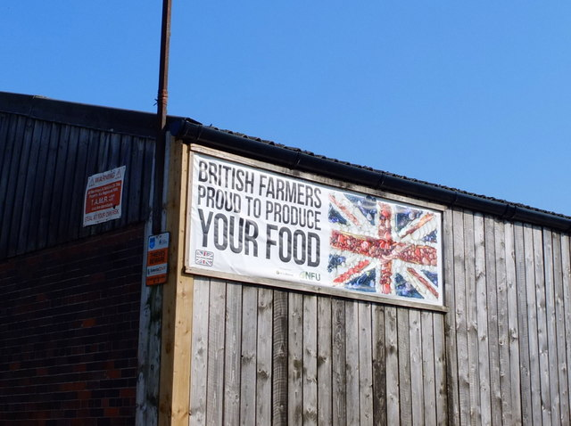 Sign at The Orchards Farm, Twemlow Lane