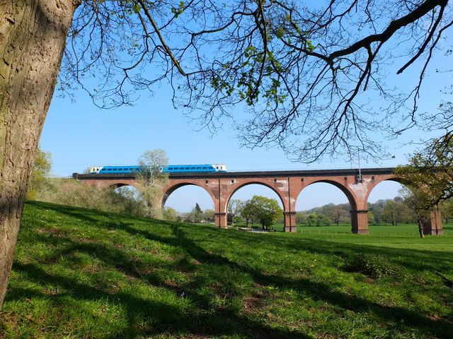 Twemlow Viaduct over The River Dane