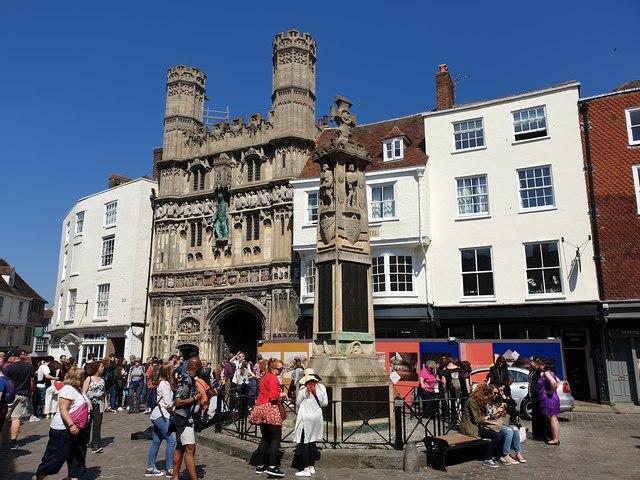 Gateway to Canterbury Cathedral, Canterbury
