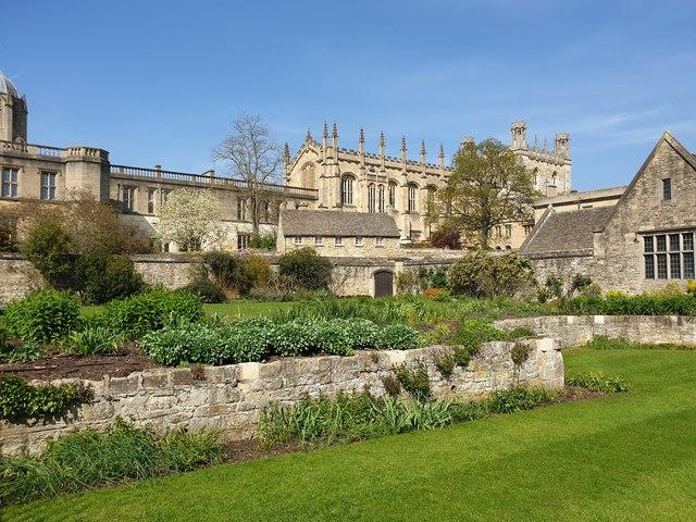 Garden at Christ Church, Oxford