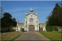 SE5947 : Bishopthorpe Palace gatehouse by DS Pugh