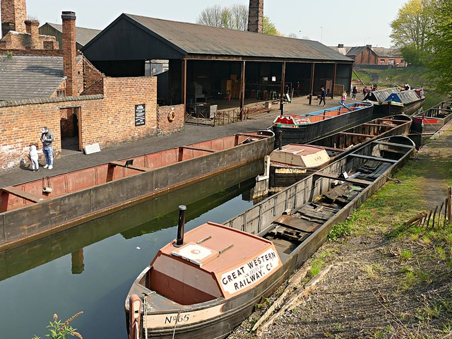 Canal & Rolling Mill at the Black Country Living Museum