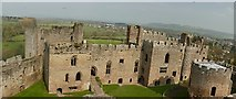 SO5074 : Ludlow Castle by Graham Hogg