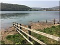 SH7977 : High tide on Afon Conwy by Richard Hoare