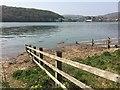 SH7977 : High tide on Afon Conwy by Richard Hoare