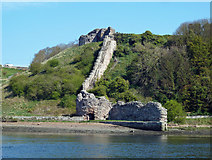 NT9953 : Remains of Berwick Castle by Mary and Angus Hogg