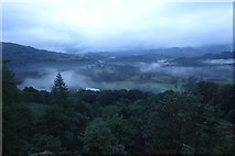 NY3404 : Looking down on the clouds by DS Pugh
