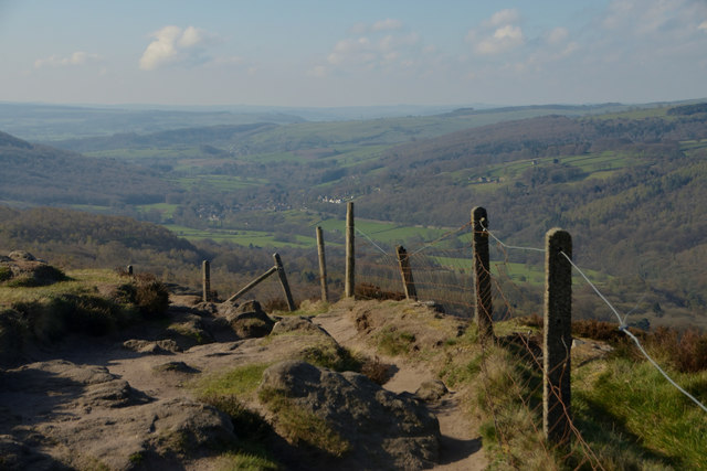 Footpath on Millstone Edge, Sheffield